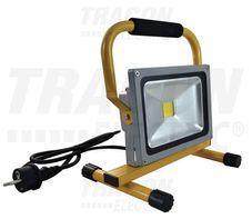 Hordozható LED szerelő fényvető 20W, 4500K, IP65, 85-265
